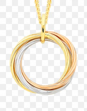 Gold Circle - Charms & Pendants Earring Necklace Jewellery Chain PNG