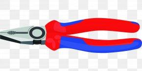 Pliers - Hand Tool Diagonal Pliers Lineman's Pliers PNG