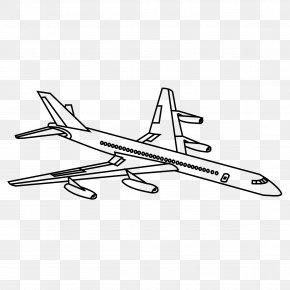 Aeroplane - Airplane Drawing Clip Art PNG