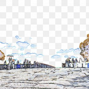 Painted Lugou Bridge - Marco Polo Bridge Tourist Attraction Monument PNG