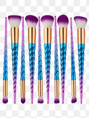 Blue Summer Discount - Makeup Brush Tarte Cosmetics Unicorn PNG