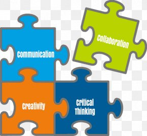 Four Cs Of 21st Century Learning - Four Cs Of 21st Century Learning 21st Century Skills Collaboration Creativity Education PNG