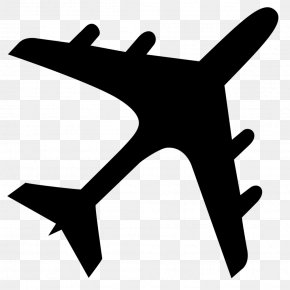 Airplane - Airplane Aircraft Silhouette Clip Art PNG
