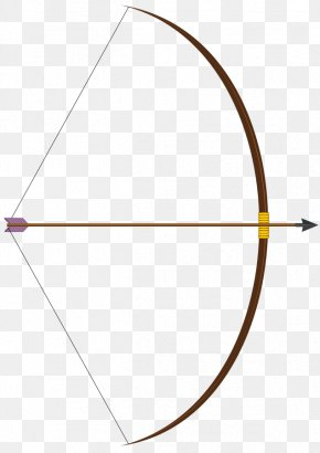 Bow Design Cliparts - Bow And Arrow Archery PNG