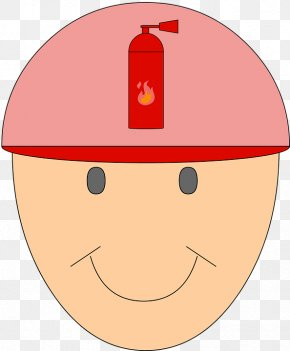Cartoon Fireman Avatar - Firefighter Fire Department Clip Art PNG