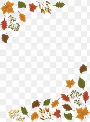 The Maple Leaf Border - Leaf Autumn PNG