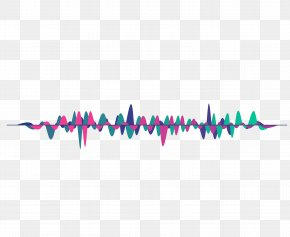 Vector Psychedelic Sound Wave Curve Picture - Sound PNG