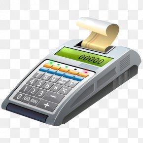 Cash Register - Office Equipment Hardware Telephony PNG