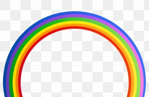 Rainbow Transparent Clipart - Rainbow Graphics PNG
