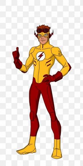 Kid Flash Transparent Image - The Flash Batman Nightwing Robin PNG