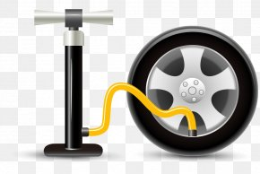 Vector Industrial Automotive Repair Cheer - Car Wheel Rim Automobile Repair Shop Icon PNG