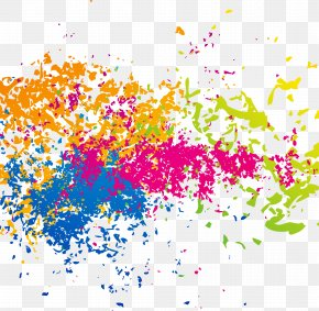 Paint Splash - Color Splash Royalty-free PNG