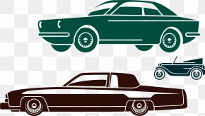 Car Posters Vector Elements - Car Dealership Classic Car PNG