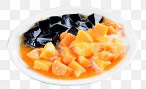 Papaya Frozen Fairy - Chocolate Truffle Vegetarian Cuisine Chinese Cuisine Dim Sum Frozen Vector PNG