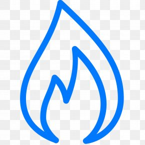 Flame - Natural Gas Flame Icon Design PNG