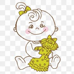 Babies Outline - Clip Art Design Image PNG
