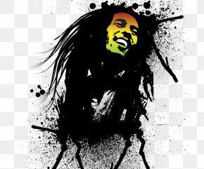 Bob Marley - High-definition Video 1080p Live! Wallpaper PNG