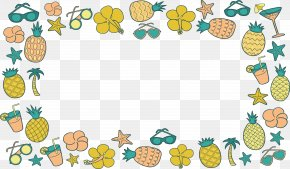 Cartoon Fruit Juice Decoration Box - Juice Auglis Drawing Cartoon PNG