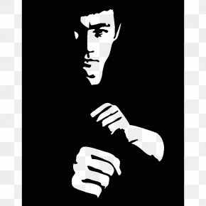 Bruce Lee Decal - Wall Decal Sticker Polyvinyl Chloride Paper PNG