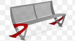Street Furniture - Bench Sheet Metal Street Furniture Plastic PNG