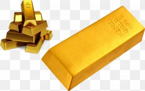 In A Stack Of Gold Bars - Gold Bar Gold As An Investment Clip Art PNG