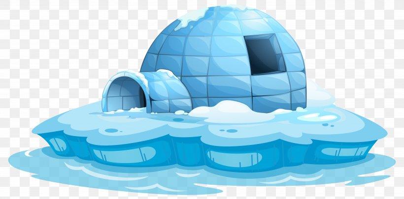 Igloo Stock Photography Clip Art, PNG, 5212x2579px, Igloo, Aqua, Blue, Building, Drawing Download Free