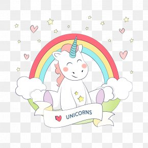 Vector Unicorn - Unicorn Rainbow Euclidean Vector Color PNG