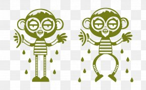 Little Monkey Creative - Monkey Cartoon Download PNG