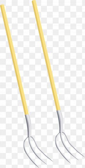 Fork Vector Material - Material Angle Yellow LINE PNG