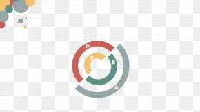 Colorful Colorful Circle Ppt Template - Template Flat Design Download PNG