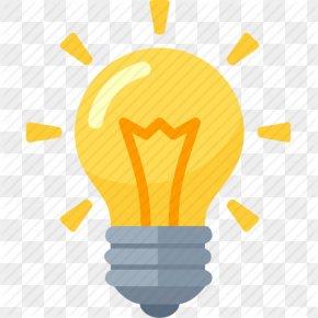 Idea Bulb Clipart - Incandescent Light Bulb ICO Icon PNG