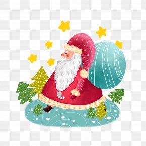 Christmastide Pictogram - Santa Claus Christmas Day Image Christmas Gift Holiday Greetings PNG