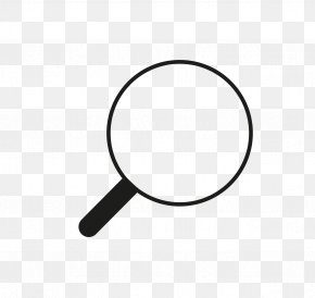 Magnifying Glass - Magnifying Glass Circle Font PNG