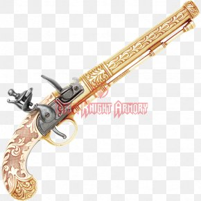 Weapon - Trigger Flintlock Firearm Duelling Pistol PNG