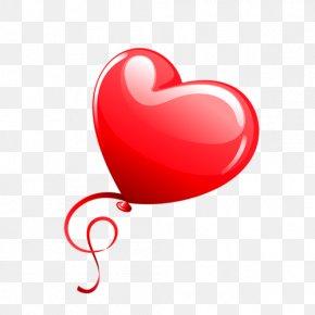 Balloon - Heart Balloon Clip Art PNG