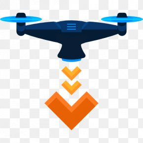 UAV - Unmanned Aerial Vehicle Quadcopter Drone Racing Icon PNG
