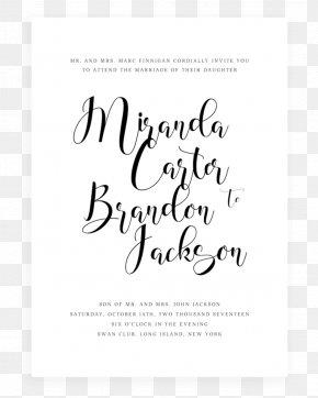 Cute Script Wedding Invitation - Wedding Invitation Paper Greeting & Note Cards Green Wedding PNG
