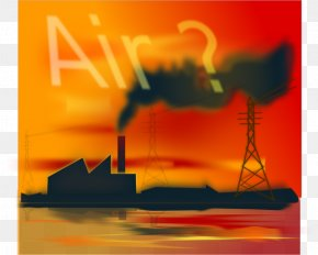 Air Pollution Water Pollution Atmosphere Of Earth Clip Art PNG