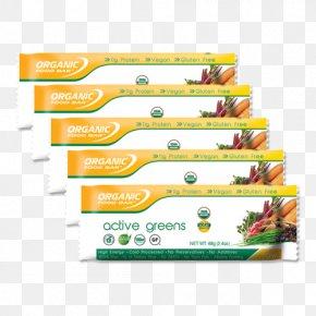Organic Food Bar - Chocolate Chip Bar 12 X 68gr By Organic Food Bar Organic Food Bar Active Greens Chocolate + Probiotic 12x68g PNG