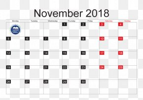 Calendar 2018 - Lunar Phase Lunar Calendar Full Moon New Moon PNG