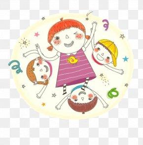 Happy Kids Cartoon - Child Stock Illustration Cartoon Clip Art PNG
