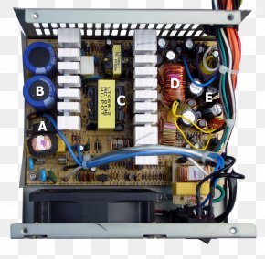 Interior - Power Supply Unit Switched-mode Power Supply Computer Power Converters Wiring Diagram PNG