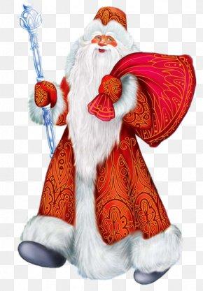 Santa Claus - Ded Moroz Snegurochka Grandfather New Year Santa Claus PNG