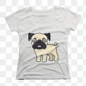 T-shirt - Pug T-shirt Puppy Dog Breed Shih Tzu PNG