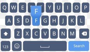 Keyboard - Computer Keyboard QWERTY Theme Icon PNG