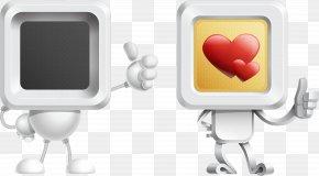 2 Vector 3D Robot - Robot 3D Computer Graphics PNG
