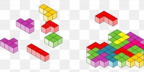 Color Building Blocks - Tetris Pro Jigsaw Puzzles Tetromino Pac-Man PNG