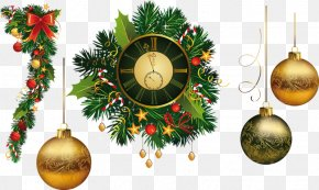 Christmas - Christmas Eve New Year Christmas Ornament Clip Art PNG