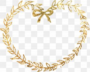 Material Gold Border - Body Piercing Jewellery Pattern PNG