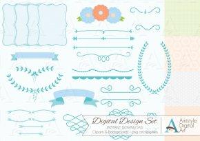 Baby Shower Border Paper - Paper Wedding Invitation Baby Shower Clip Art PNG